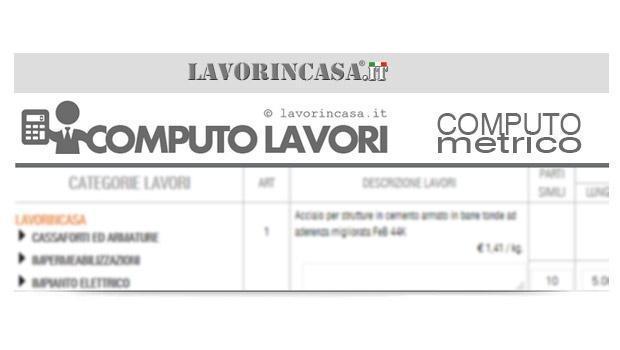 Il computo metrico estimativo - Lavorincasa forum ...