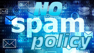 No Spam Policy